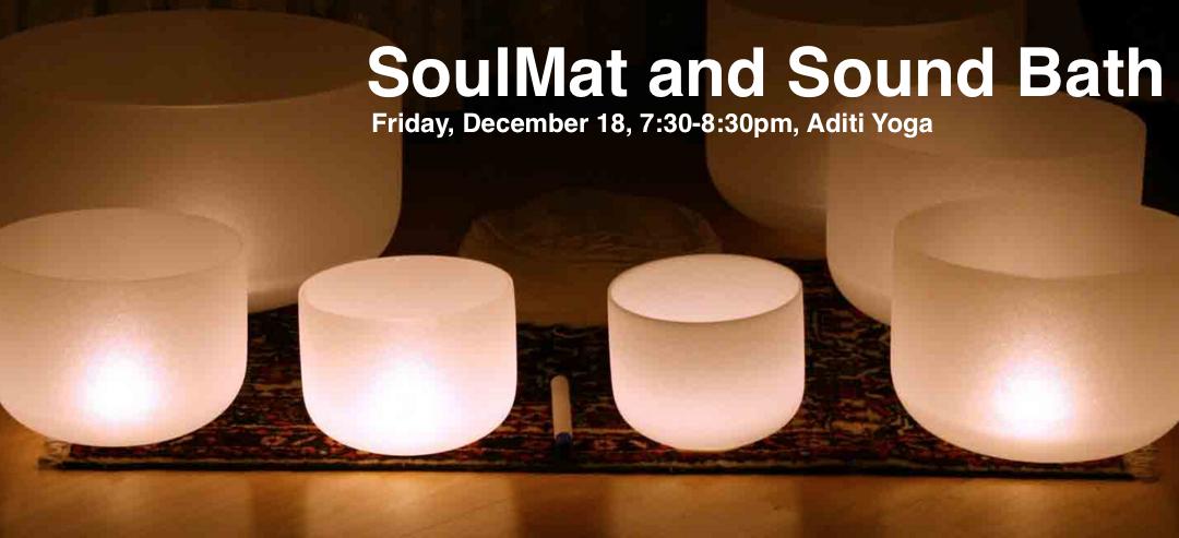 SoundBath on SoulMat: Relax and Restart