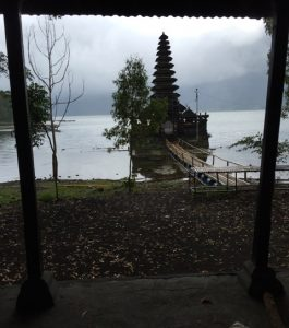 Temple to the goddess of Lake Batur, also where we will be doing yoga